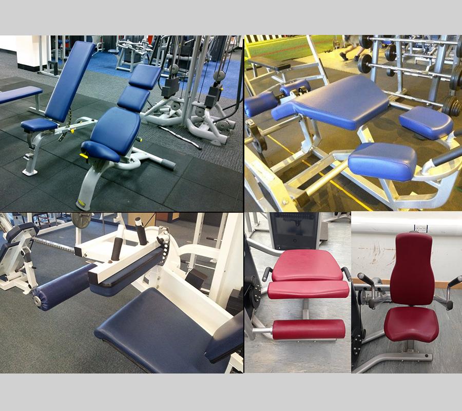 Fitness Equipment Upholstery: Geneabremupholstery.com – Medical Upholstery